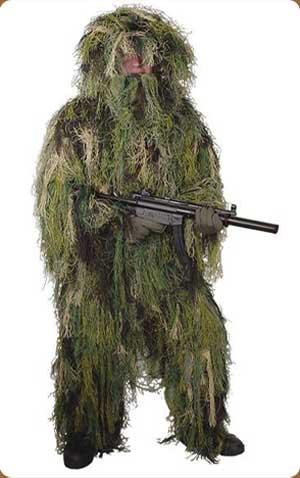 Ghillie Suit Woodland Camo